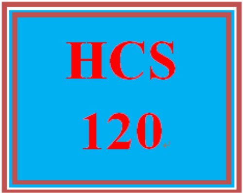 First Additional product image for - HCS 120 Entire Course