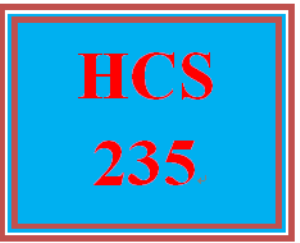 HCS 235 Week 3 Health Care Providers and Products | eBooks | Education