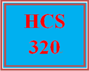 HCS 320 Week 3 Health Care Process | eBooks | Education
