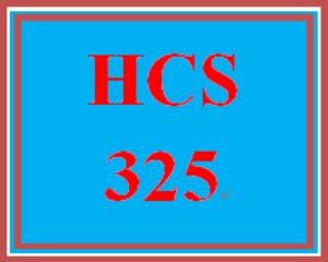 HCS 325 Week 2 Case Study | eBooks | Education