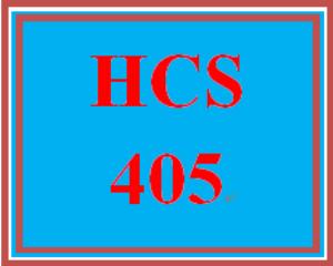 HCS 405 Week 5 Concept Reflection | eBooks | Education