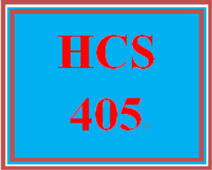 HCS 405 Week 5 Sensitivity Analysis | eBooks | Education