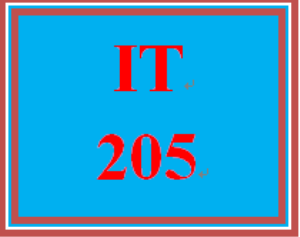 it 205 week 6 assignment web or mobile system paper