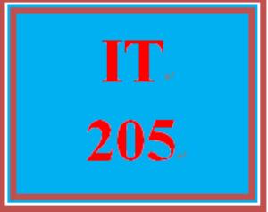 it 205 week 7 week seven knowledge check