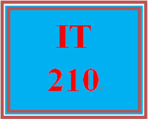 IT 210 Week 8 Object-oriented design | eBooks | Education