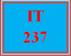 IT 237 Week 3 Home Page | eBooks | Education
