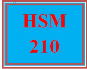 HSM 210 Week 8 Characteristics and Skills | eBooks | Education
