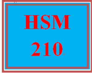 HSM 210 Week 9 Reflection Presentation | eBooks | Education