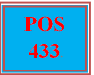 POS 433 Week 3 Learning Team: UNIX®, Linux®, and Windows Server® Critique and Presentation Preparation Part II | eBooks | Education