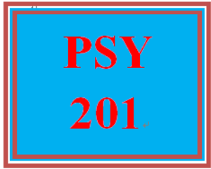 PSY 201 Week 1 Knowledge Check | eBooks | Education