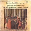 German Brass Music 1500-1700 - The New York Cornet & Sacbut Ensemble   Music   Classical