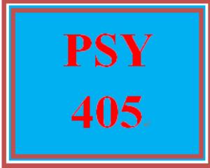 PSY 405 Week 5 Personality Theory Analysis | eBooks | Education