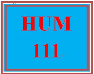 HUM 111 Week 9 Critical Thinking Reflection | eBooks | Education