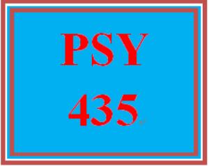 psy 435 week 1 industrial/organizational psychology worksheet