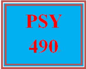 PSY 490 Week 2 Psychological Issue Summary | eBooks | Education