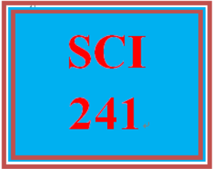 """SCI 241 Week 3 Toolwire GameScape Episode 2: """"Nutrient Sources and Significance"""" 