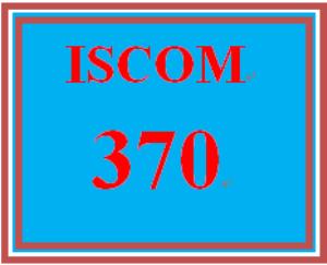 ISCOM 370 Week 5 Supply Chain | eBooks | Education