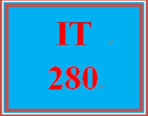 IT 280 Entire Course   eBooks   Education