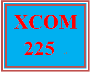 XCOM 225 Week 4 Annotated Reference List | eBooks | Education