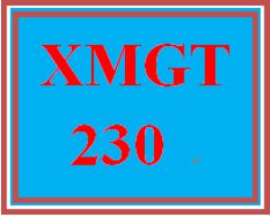 XMGT 230 Week 5 Knowledge Check | eBooks | Education