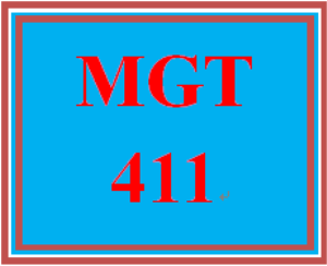mgt 411 week 5 training session handouts