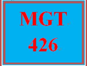MGT 426 Week 5 Managing Change Paper Part IV | eBooks | Education
