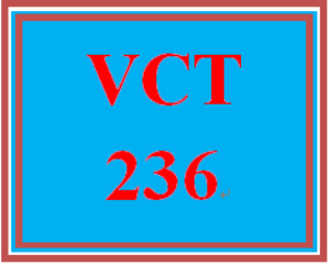 vct 236 week 3 individual: banner