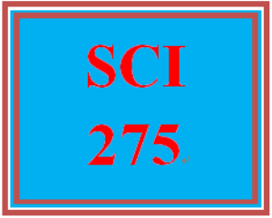 SCI 275 Week 9 Environmental Science Final Project | eBooks | Education