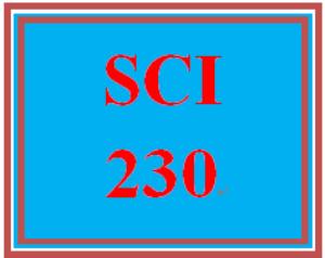 sci 230 week 1 the scientific method
