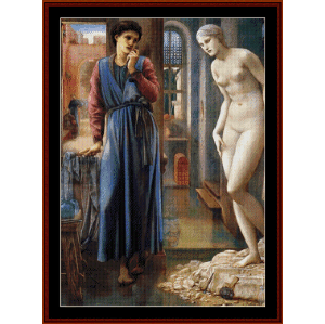 the hand refrains - burne-jones cross stitch pattern by cross stitch collectibles