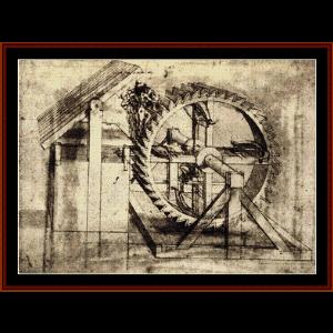 crossbow machine - raphael cross stitch pattern by cross stitch collectibles