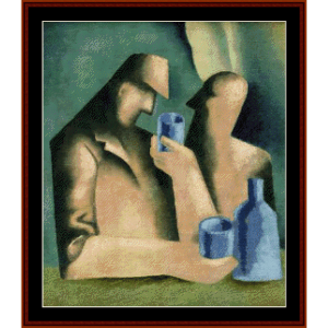 Drunkards, 1933 - Galanda cross stitch pattern by Cross Stitch Collectibles   Crafting   Cross-Stitch   Wall Hangings