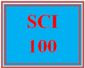 "SCI 100 Week 5 Episode Four Gamescape ""Healthy Living Choices"" 