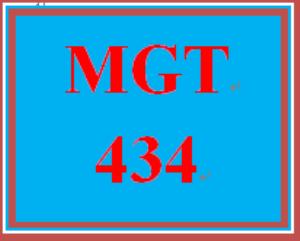 MGT 434 Week 2 Employer-Employee Relations Paper | eBooks | Education