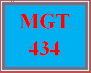 MGT 434 Week 3 Interactive Simulation Paper | eBooks | Education
