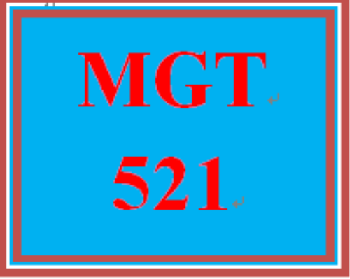 First Additional product image for - MGT 521 Week 6 Learning Team Reflection