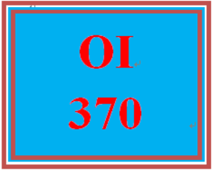 OI 370 Week 3 Observing and Networking | eBooks | Education