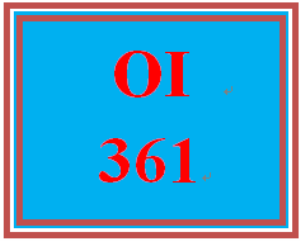 OI 361 Week 2 Benefit and Drivers Paper | eBooks | Education