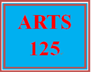 ARTS 125 Week 1 Shifting Views of America Assignment Options | eBooks | Education