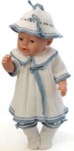 DollKnittingPatterns 0150D SOPHIA - Jurkje, broekje, muts en sokjes-(Nederlands)   Crafting   Knitting   Other