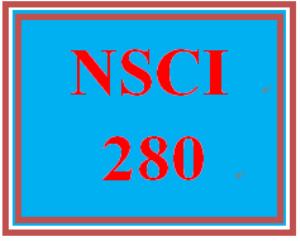 NSCI 280 Week 1 Quiz | eBooks | Education