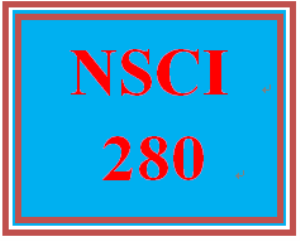 NSCI 280 Week 4 Quiz | eBooks | Education