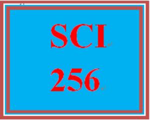 SCI 256 Entire Course | eBooks | Education