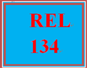 REL 134 Week 1 Knowledge Check | eBooks | Education