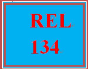 REL 134 Entire Course | eBooks | Education