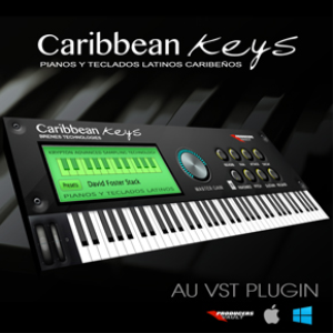 caribbean keys 2.0  (mac vst and au plugin)