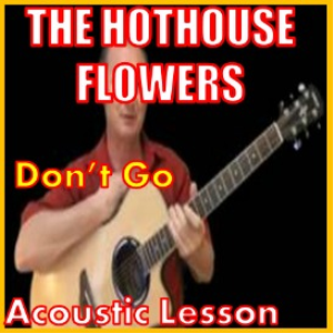 Learn to play Don't Go by The Hothouse Flowers | Movies and Videos | Educational