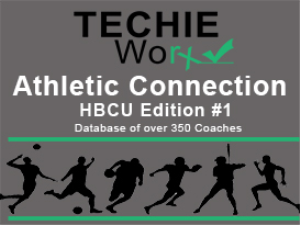 Hbcu Athletic Connection Database D1-Fcs Sw1 | Documents and Forms | Spreadsheets