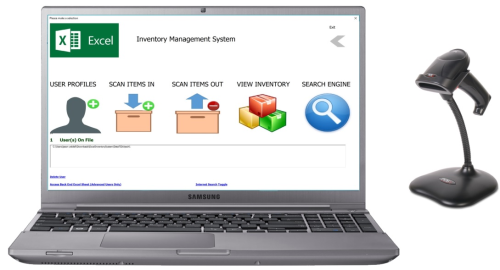 First Additional product image for - Excel Inventory Mgt System - Standard Edition
