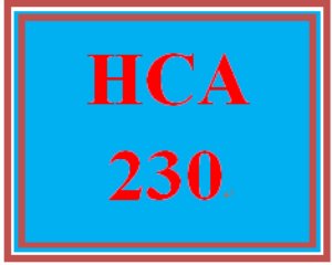 HCA 230 Week 1 The Communication Process Model | eBooks | Education